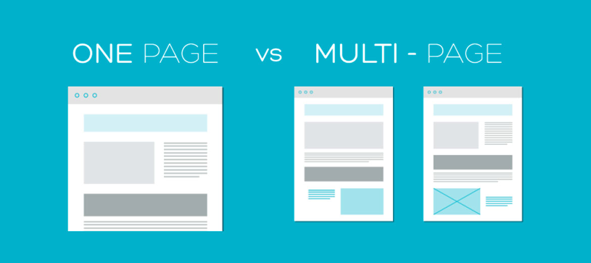 One Page vs Multipage