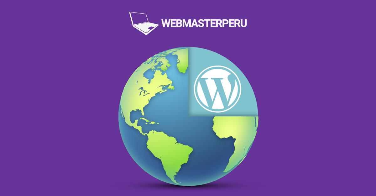 El 25% de las Webs mundiales utilizan WordPress