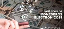 ¿Qué son los monederos electrónicos?