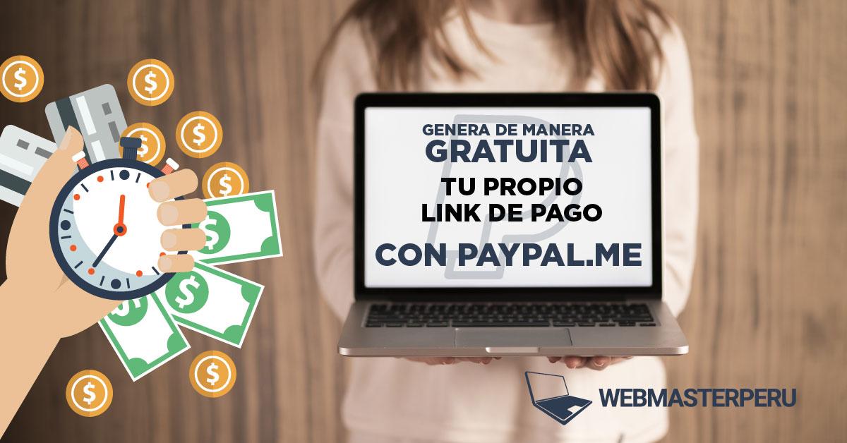 Genera de manera gratuita tu propio link de pago